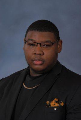 Head shot of student Malachi Bridges